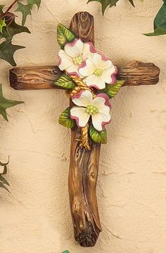 Dogwood Trees, Dogwood Flowers, Old Rugged Cross, Sign Of The Cross, Easter Parade, He Is Risen, Easter Celebration, Wall Crosses, Amazing Grace