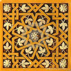 octagonal geometry alhambra