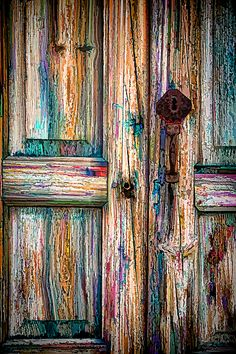 Wood Door Da Canvas Print / Canvas Art by Kevin Anderson,How To Produce Wood Art ? Wood art is generally the work of surrounding about and inside, so long as the surface of something is flat.