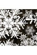 Wintergraphix III Holiday Snowflakes on Olive - Fat Quarter Quilt Fabric