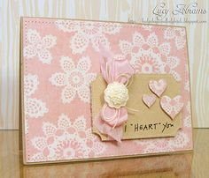 'I Heart You' card❣ Lucy Abrams • Flickr