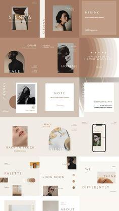 Feeds Instagram, Instagram Story Template, Instagram Templates, Catalog Design, Instagram Design, Social Media Design, Presentation Design, Graphic Design Inspiration, Portfolio Design