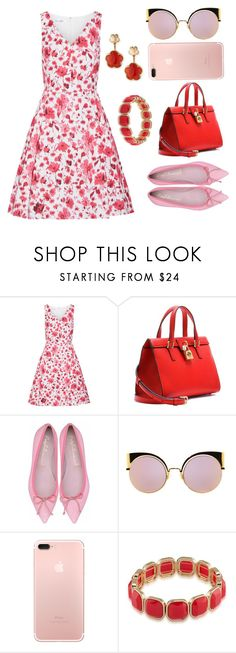 """Red and Pink (Valentine Series)"" by anay05 ❤ liked on Polyvore featuring Oscar de la Renta, Dolce&Gabbana, Fendi, 1st & Gorgeous by Carolee, Pasquale Bruni, valentine and redandpink"