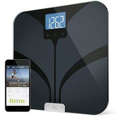 Weight Gurus Bluetooth Smart Connected Body Fat Scale w/ Large Digital Backlit LCD Precision/Accurate Measurements include: BMI Body Fat Lean Mass Water Weight and Bone Mass Best Smart Scale, Smart Weight Scale, Body Weight Scale, Best Scale, Best Bathroom Scale, Bathroom Scales, Digital Pocket Scale, Best Digital Scale, Weighing Scale