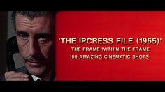 THE IPCRESS FILE - 100 Cinematic Shots. FULL ARTICLE HERE: http://vashivisuals.com/cinematography-ipcress-file/ In 1965, Sidney J. Furie dir...