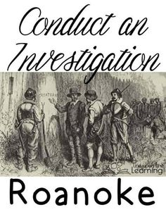 The Roanoke Colony was the first English settlement in America. It vanished. The mystery of the lost colony of Roanoke has baffled society for centuries. Teaching American History, American Literature, Teaching History, Carolina Do Norte, North Carolina, Roanoke Colony, Roanoke Island, First Year Teaching, Teaching Ideas