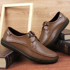 Autumn New Shoes Men Casual Scarpe Uomo Winter Fashion Sapatos Size 38 to 45 46 Black Red Brown Khaki