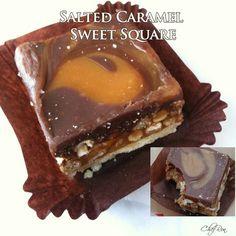 Salted Caramel Sweet Square