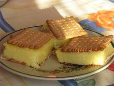 Napoleonka na herbatnikach Cheesecake, Pudding, Food, Cheesecakes, Custard Pudding, Essen, Puddings, Meals, Yemek