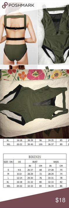 NWT- Cupshe Glad You Are Here One-piece Swimsuit Cute suit but too tight on me. I'm usually a medium in most things, so I think these run small. Cupshe sizing chart in images as well. Site for swimsuit https://www.cupshe.com/products/cupshe-glad-you-are-here-one-piece-swimsuit Cupshe Swim One Pieces