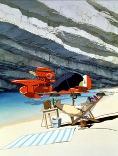 Porco Rosso A very under-appreciated Ghibli anime - probably one of my favourites of Miyazaki's.