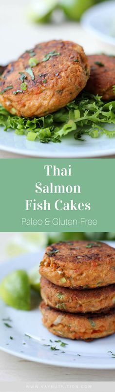 Fish cakes might have a reputation for being bland and boring, but these Thai Salmon Fish Cakes are anything but! Filled with fresh ingredients, these gluten-free salmon fish cakes are full of flavour.