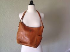 Leather purse by PureJoyVintage on Etsy