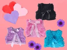 Delightful chiffon rosette vests available in 4 adorable colours. These vests are perfect for a little bridesmaid, flower girl or other very special occasions! Unique Outfits, Cute Outfits, Rosettes, Vests, Boy Or Girl, Special Occasion, Cool Style, Chiffon, Ruffle Blouse