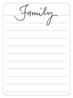 A Vegas Girl at Heart: Moments and Family Journal Card Freebies