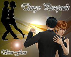 Sims 4 Updates: Sims Fans - Poses : Tango Posepack by Sim4fun, Custom Content Download!