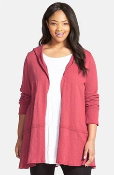 Chalet 'Jordan' Hoodie Cardigan (Plus Size) available at #Nordstrom