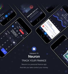 Neuron is a personal finance app that lets you take control your money. Track your earnings and expenditures, manage your personal funds and control your financial situation.