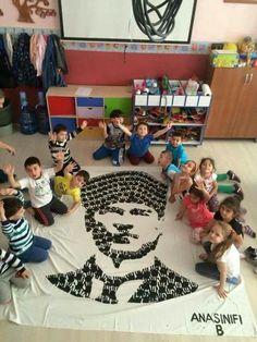Anaokulu Preschool Education, Kindergarten Activities, Preschool Crafts, Activities For Kids, Art Lessons For Kids, Projects For Kids, Art For Kids, Crafts For Kids, Christian Kids
