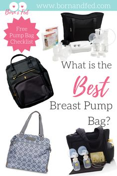 Let's Talk Breast Pump Bags: What you should buy and what to pack in it! Pumping Bag, Pumping At Work, Exclusive Breastfeeding, Breastfeeding Tips, Labor Nurse, Colic Baby, Breastfeeding Accessories, Breastmilk Storage, Best Bags