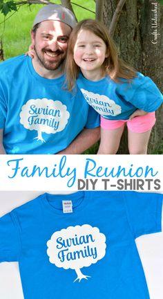 Family Reunion T-Shirts Idea: DIY - Crafts Unleashed