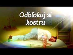 Odblokování křížokyčelního kloubu (SI) vkleče sám na sobě (www.hladinaklidu.cz , www.fyziotom.cz) - YouTube Body Fitness, Health Fitness, Acupressure Points, Taekwondo, Reiki, Exercise, How To Plan, Workout, Sports