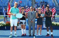 Leander Paes y Martina Hingis, campeones de dobles mixtos del US Open
