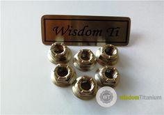 Titanium Hex Flange All Metal Lock Nuts M10 - Buy hot forged titanium nuts, titanium lock nuts, titanium all metal lock nuts Product on Wisdom Titanium