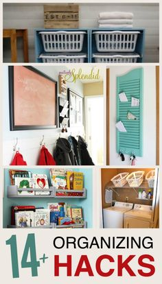 14+ Totally Awesome Organizing Hacks
