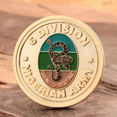 Military coins with sandblasting process, polished with shiny gold finish. Military Challenge Coins, Sale Logo, Customized Gifts, Personalized Items, Custom Coins, Free Artwork, Military Branches, Metal Pins, Lapel Pins