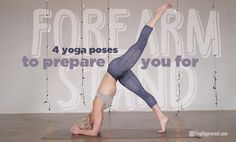 Are you interested in adding Forearm Stand (Pincha Mayurasana) to your yoga practice? Here are 4 yoga poses to prepare you for Forearm Stand: