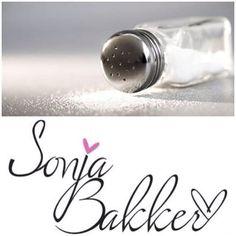Tip! Gebruik zo min mogelijk zout. Zout is bloeddrukverhogend en zou de eetlust kunnen verhogen. www.sonjabakker.nl Min, Salt, Salts