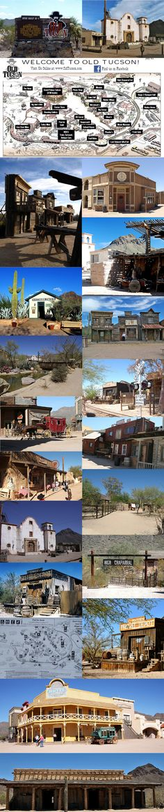 """The Old Tuscon Studios outside Tuscon, Arizona. http://oldtucson.com Where they filmed such westerns as: """"Winchester '73"""" """"Three Amigos!"""" """"The Wild Wild West"""" """"The Quick and the Dead"""" """"Young Guns II"""" """"El Dorado"""" """"Rio Bravo"""" """"The Lilies of the Field"""" """"High Chaparral"""" """"Outlaw Josey Wales"""" """"Frisco Kid"""" """"Tombstone"""" And TV shows like: """"Little House on the Prairie"""" """"Gunsmoke"""" """"Mark of Zorro"""" """"The Gambler"""" #backlots #moviemagic #oldwest"""