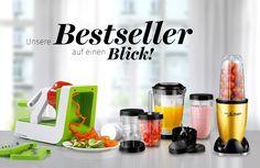 Unsere Bestseller auf einen Blick! Tv Shopping, Nutribullet, Kitchen Appliances, Cookware, Products, Diy Kitchen Appliances, Home Appliances, Net Shopping, Kitchen Gadgets