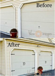Add Garage Door Hardware - 150 Remarkable Projects and Ideas to Improve Your Home's Curb Appeal