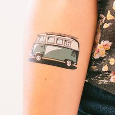 Pack your bags and hit the road with this super awesome Tattly by Kyle Steed. Be sure to leave room in the trunk for all of the fun memories!