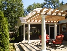 Traditional Home Covered And Enclosed Patios Design Ideas, Pictures, Remodel, and Decor - page 443