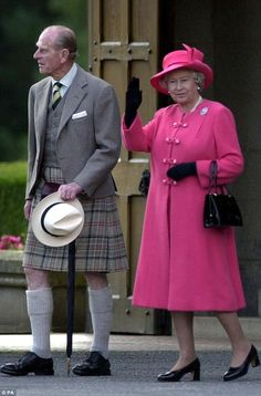 Queen Elizabeth and Prince Philip, Duke of Edinburgh