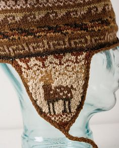Ravelry  Andean Chullo Hat pattern by Kerin Dimeler-Laurence Tejido Peruano 445d2c54993