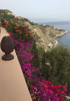 Vista do San Domenico Palace Hotel em Taormina