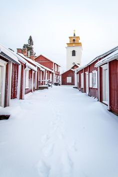 """""""The largest and best preserved of Sweden's church towns, Gammelstad is home to rustic cottages huddled around a medieval church which make this UNESCO World Heritage Site unmissable."""" Lapland: the Bradt Guide; www.bradtguides.com/lapland"""