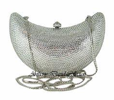 Swarovski Crystal Evening Bags Crystal Handbags Crystal Clutch Purses by Anthony Swarovski Crystal Clutch Purses, Evening Bags, Leather Purs...