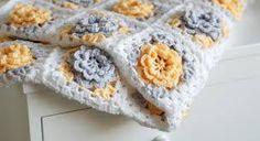pink beige grey crochet blanket - Căutare Google