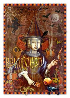 Bewitched Digital Art  - Bewitched Fine Art Print