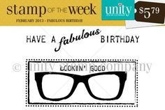 Unity Stamp Company: Unity Stamp of the Week