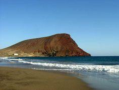 RED ROCK BEACH, Tenerife, SPAIN #naturistbeach #nudistbeach ➳ wilderness beach