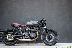 Triumph Bonneville Cafe Racer 2012 By Purebreed Cycles #motorcycles #caferacer #motos   caferacerpasion.com