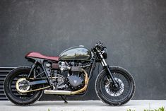 Triumph Bonneville Cafe Racer 2012 By Purebreed Cycles #motorcycles #caferacer #motos | caferacerpasion.com