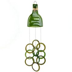 Wind Chimes made from Wine Bottles