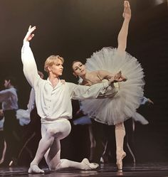 Sofiane Sylve and Tiit Helimets in Suite en blanc, San Francisco Ballet